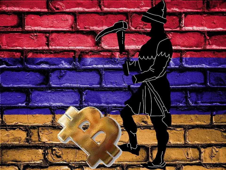 Armenia legalizar minería de criptomonedas