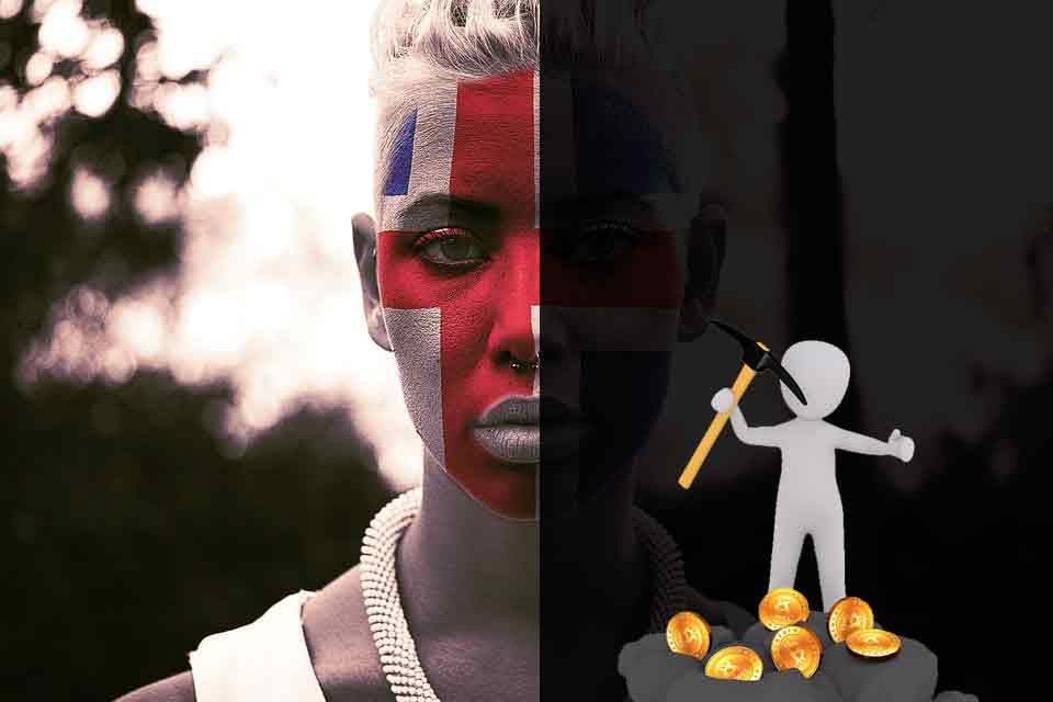 Islandia minado criptomonedas
