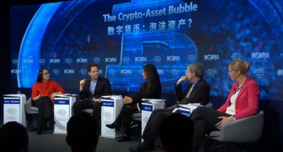 La criptomoneda Davos