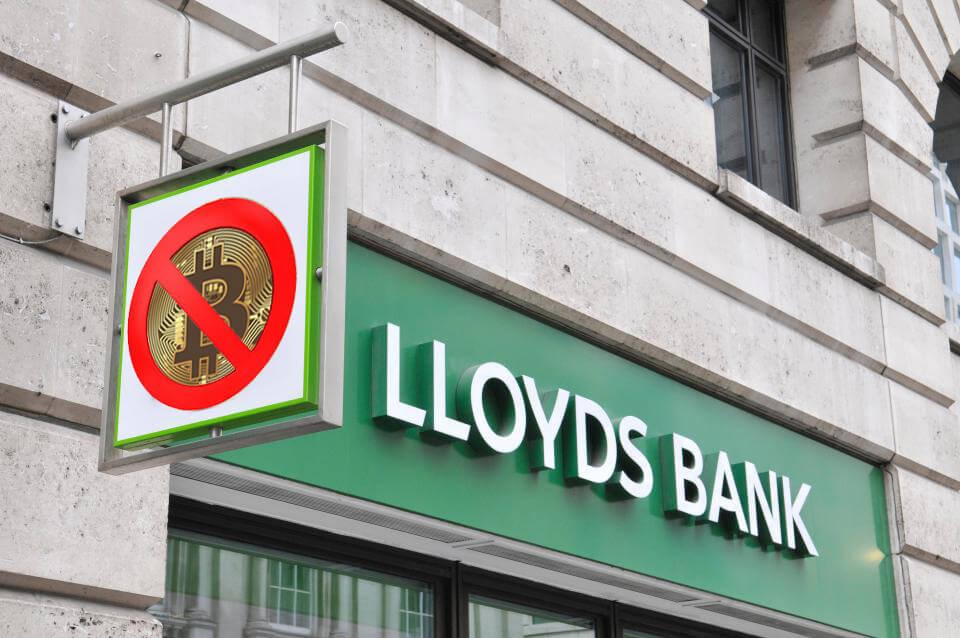 Lloyds Banking Group impide las compras de Bitcoin