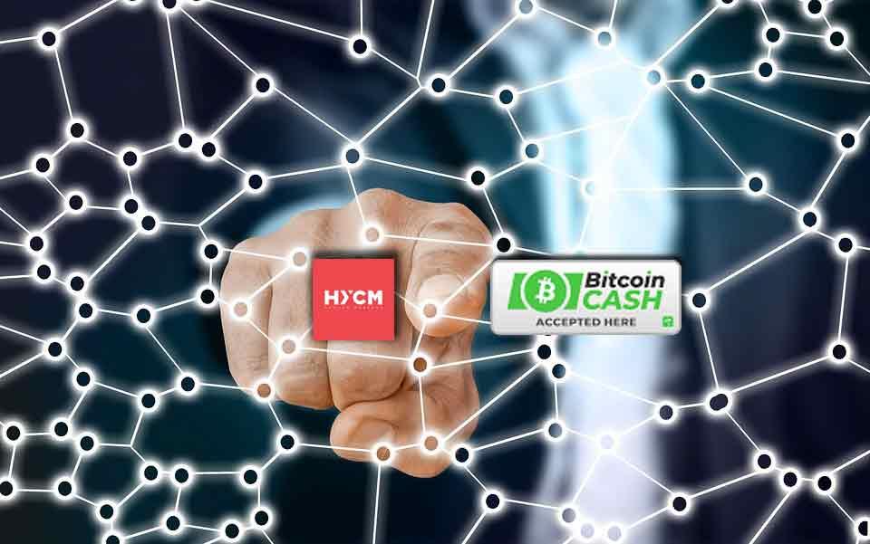 bitcoin cash para HYCM