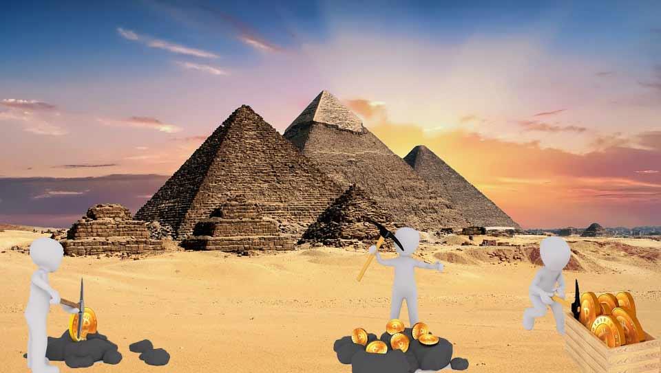 El gobierno de Egipto mina criptomonedas a través de sus ciudadanos