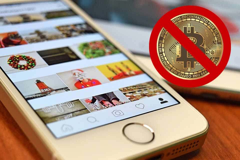 Instagram también prohíbe publicidad de criptomonedas