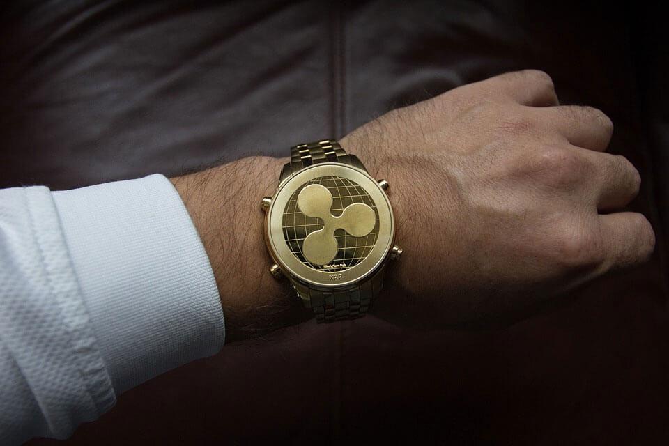 reloj de criptomonedas