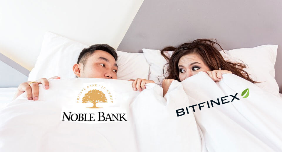 Noble Bank y Bitfinex