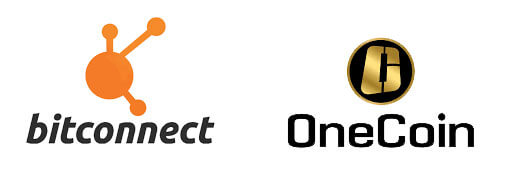 Onecoin y bitconnect