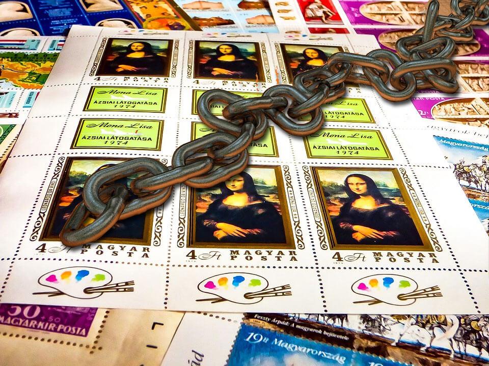 Mona lisa Blockchain