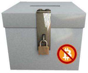 Prohibida donación elecciones