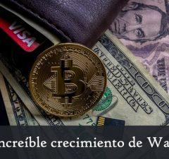 increible crecimiento en el numero de wallets