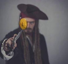pirata criptomoneda