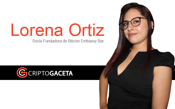 Lorena Ortiz, socia fundadora de Bitcoin Embassy Bar