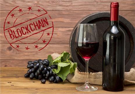 Vino coleccionable blockchain