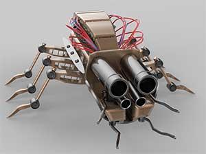 Nano robot de vigilancia